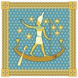 pharaoh рамки Стоковая Фотография