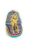 Pharaoh. Cemetery mask of egyptian pharaoh tutankhamon royalty free stock photo