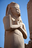 pharaoh antyczna egipska statua s Zdjęcia Royalty Free