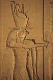 Pharaoh as Horus Royalty Free Stock Photo