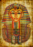 Pharaoh drawing Royalty Free Stock Image