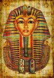 Pharaoh drawing Royalty Free Stock Image