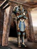 Pharaoh egipcio ilustración del vector