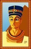 pharaoh egipska statua ilustracji