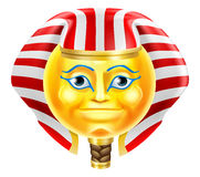 Pharaoh Emoji Emoticon Stock Photo
