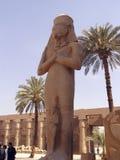 pharaoh en el templo 1 de Karnak foto de archivo libre de regalías