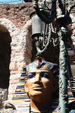Pharaoh. A pharaoh in front of the arena of verona Stock Image