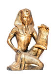 Pharaoh. A old Egyptian pharaoh Statue royalty free stock images