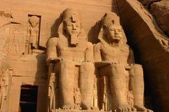 Pharaoh Ramesses II Egypt stock photos
