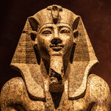 Pharaoh statue Royalty Free Stock Photo