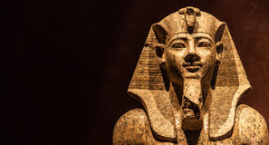 Pharaoh statue Stock Photos