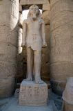 Pharaoh statue in Thebes Royalty Free Stock Image