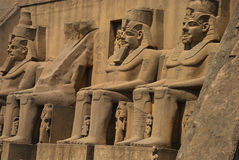pharaohes egiptu Obrazy Stock