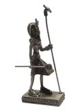 pharaohstatuette Arkivbilder