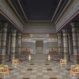 pharaohstempel Royaltyfria Foton
