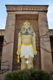 Pharaon égyptien effectué avec des blocs de Lego photo stock