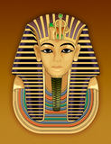 pharaon d'or de masque de la mort Photographie stock