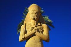Pharaon de l'Egypte images libres de droits