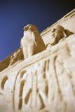 Pharaon de simbel d'Abu Image libre de droits