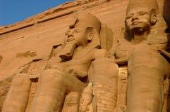 Pharaon Ramesses II Egypte Images libres de droits