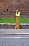 Pharaon on the streets of Rome Stock Photo