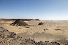 Pharaonic Basalt Stone-pit Stock Photo