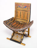 Pharaonic Chair Royalty Free Stock Images