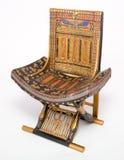 Pharaonic Chair Royalty Free Stock Image
