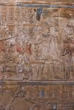 Pharaohs arts at Luxpr temple. Pharaonic inscriptions Luxor Temple Luxor, Egypt Stock Photo