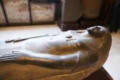 Pharaonic tillflykt i det egyptiska museet Royaltyfria Foton