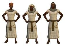 pharaons égyptiens Image libre de droits