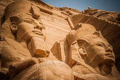 2 Pharaons Photo stock
