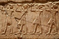 Pharaons av forntida Egypten Arkivbild