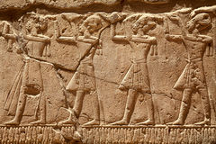 Pharaons de Egipto antiguo Fotografía de archivo