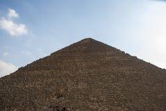 Pharaons de pyramides de l'Egypte le Caire Gizeh vieux Photos libres de droits