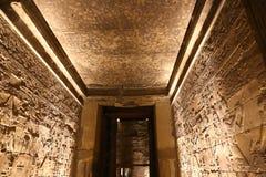 Pharaons sur le temple de Louxor Photos libres de droits