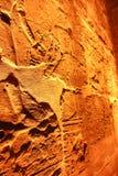 Pharaons sur le temple de Louxor Photo libre de droits