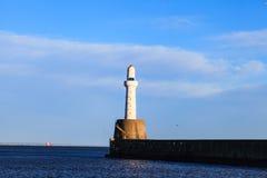 Phare à Aberdeen, Ecosse photos libres de droits