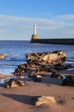 Phare à Aberdeen, Ecosse Photo libre de droits
