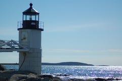 Phare au Maine Photographie stock libre de droits