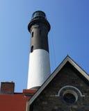 phare avant d'île d'incendie Photos stock