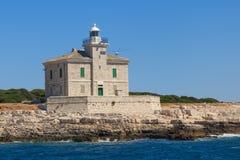 phare Brijuni Photos libres de droits