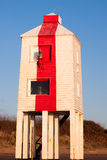 Phare, Burnham-sur-Mer, Somerset, R-U Photo libre de droits