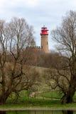 Phare chez Kap Arkona, île de Ruegen, Allemagne photos stock