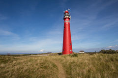 Phare chez Schiermonnikoog Photos stock