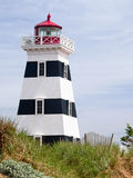 Phare chez West Point, PEI, Canada images stock