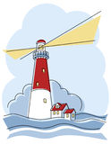Phare classique Images stock
