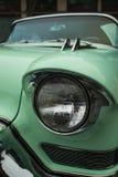 Phare classique d'automobile image libre de droits