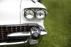 Phare classique de voiture Images stock