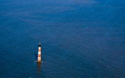 Phare d'île de Morris images libres de droits